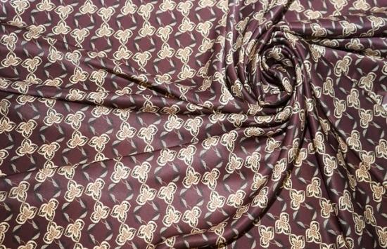 Шелк атлас арт.95-413 пр-во Италия,шир.140 см