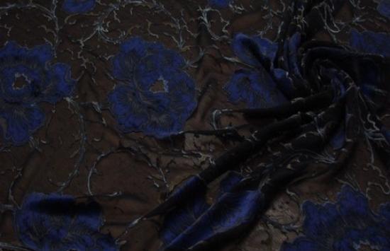 Бархат арт.87-763 шир.133 см пр-во Италия