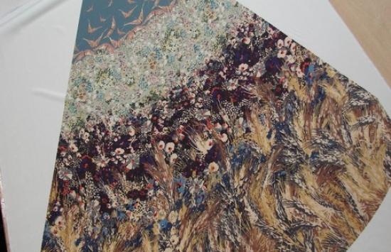 крепдешин арт.94-703 пр-во Италия,шир.152 см