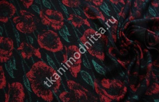 трикотаж пальтовый арт.79-597,шир.125 см, пр-во Италия
