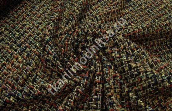 Ткань плательно-костюмная арт.95-117 шир.150 см пр-во  Италия