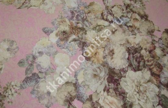 ткань плательно-костюмная жаккардовая арт.93-457 пр-во Италия,шир.140 см
