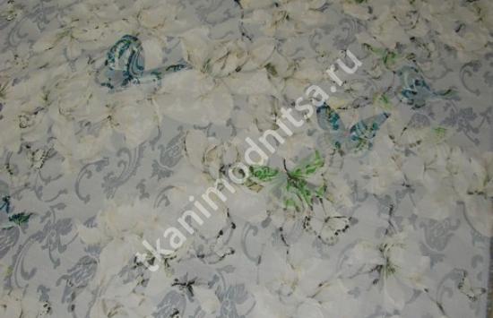 ткань плательно-костюмная жаккардовая арт.93-458 пр-во Италия,шир.130 см