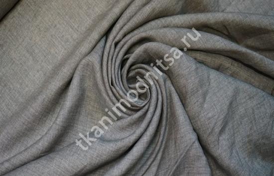 ткань блузочно-плательная лен арт.93-232,шир.152 см пр-во Италия