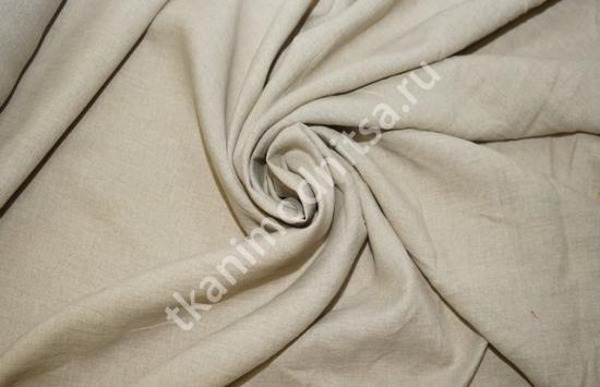 ткань плательно-костюмная лен арт.93-234,шир.158 см пр-во Италия