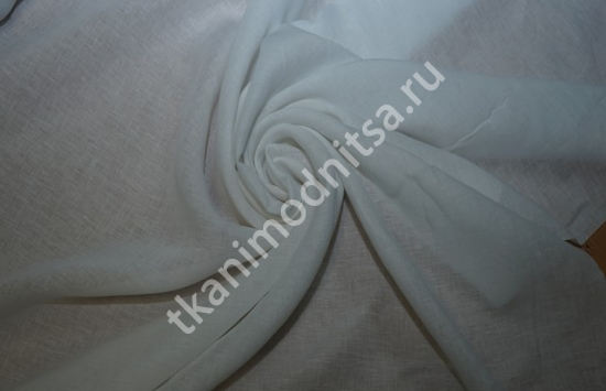 ткань блузочно-плательный лен арт.93-244,шир.148 см пр-во Италия