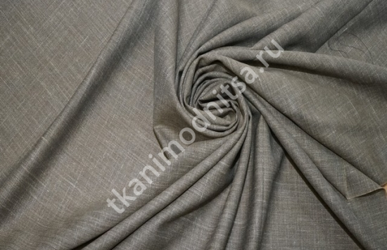 ткань плательно-костюмная лен арт.93-245,шир.155 см пр-во Италия