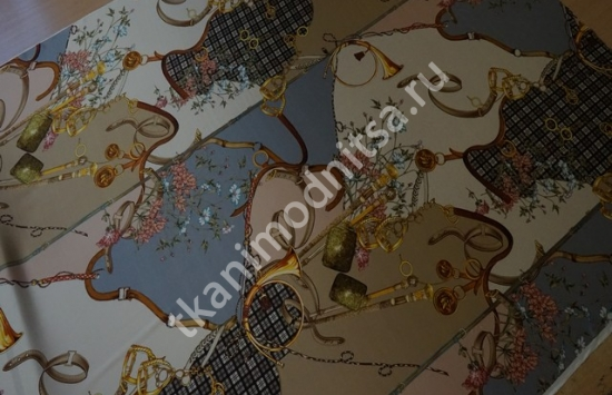 стрейч атлас арт.95-424 пр-во Италия,шир.140 см