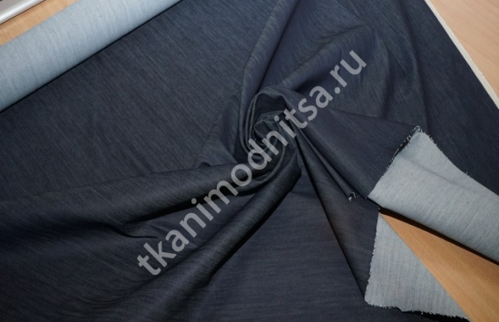 джинсовая ткань арт.88-348,шир.140 см пр-во   Италия