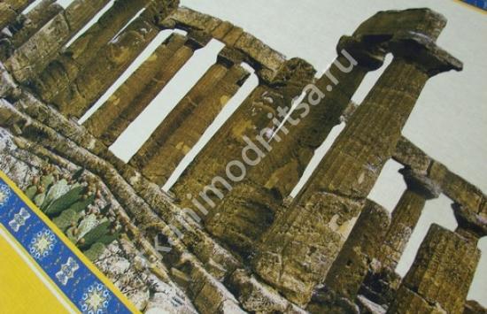 ткань лен  арт.88-176,шир.142 см пр-во Италия