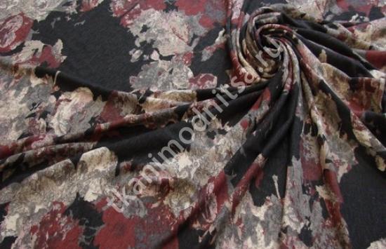 трикотаж плательный арт.91-19,шир.125 см пр-во Италия
