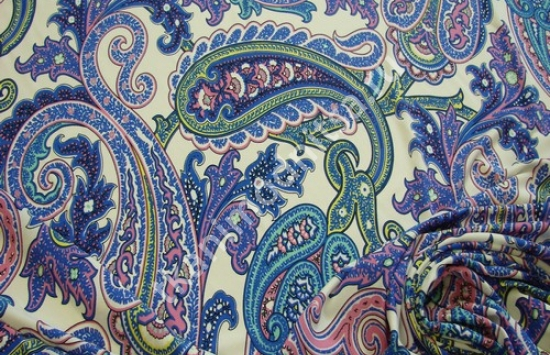трикотаж плательный арт.89-109,шир.143 см пр-во Италия