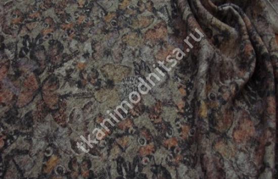 трикотаж костюмно-пальтовый арт.79-603,шир.147 см, пр-во Италия