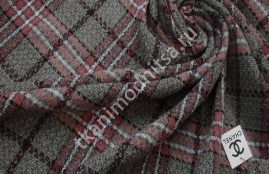 Ткань костюмно-пальтовая арт.92-679 шир.155 см пр-во  Франция