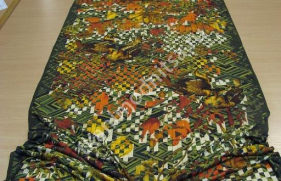 арт 85-1000 пр-во Италия, шарф длиной 210 см