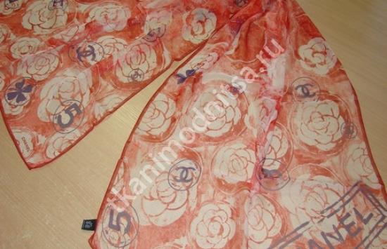 арт 85-990 пр-во Италия, шарф длиной 175 см