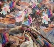 Плательные ткани шерсть вискоза