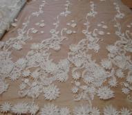 Свадебные кружева и ткани
