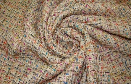 Ткань плательно-костюмная арт.95-118 шир.150 см пр-во  Италия