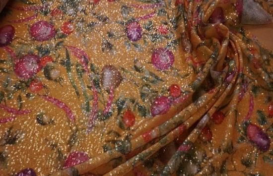 Сетка с пайетками арт.87-731 пр-во Италия,шир.145 см