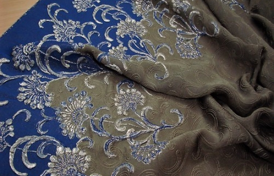 ткань жаккардовая арт.94-908 пр-во Италия,шир.137 см
