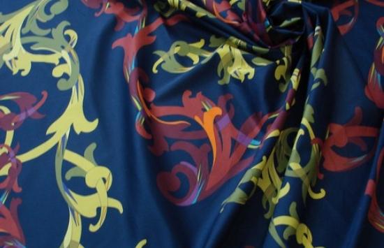 ткань блузочно-плательная арт. 93-508,шир.152 см пр-во Италия