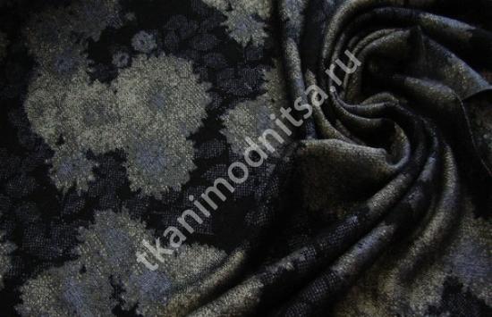 трикотаж пальтовый арт.79-589,шир.124 см, пр-во Италия