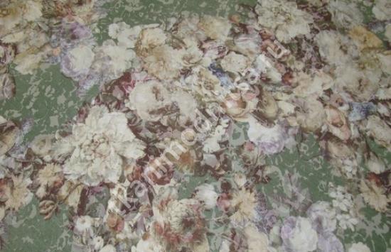 ткань плательно-костюмная жаккардовая арт.93-455 пр-во Италия,шир.140 см