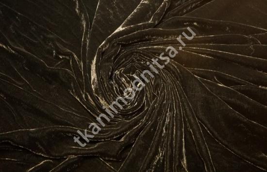 Шелковый бархат арт.87-776 шир.140 см пр-во Италия