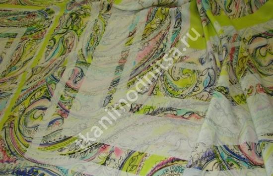 ткань плательная штапель арт.94-143 пр-во Италия,шир.143 см