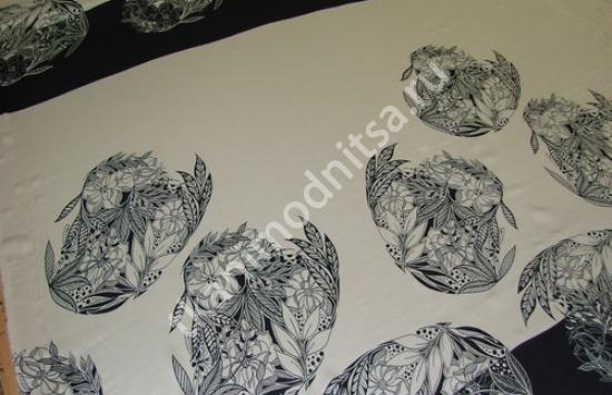 ткань плательная штапель арт.94-150 пр-во Италия,шир.149 см