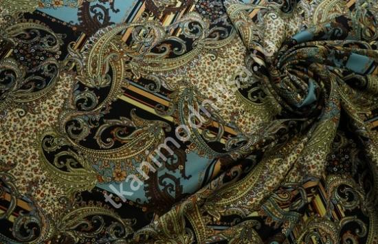 ТВИЛ шелк стрейч  в рубчик арт.95-443 пр-во Италия,шир.138 см