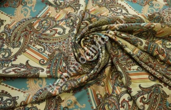 ТВИЛ шелк стрейч  в рубчик арт.95-445 пр-во Италия,шир.138 см