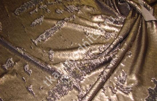 трикотаж с пайетками арт.87-718 пр-во Италия,шир.150 см