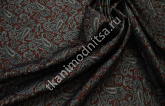 шелк твил арт.94-718 пр-во Италия,шир.142 см