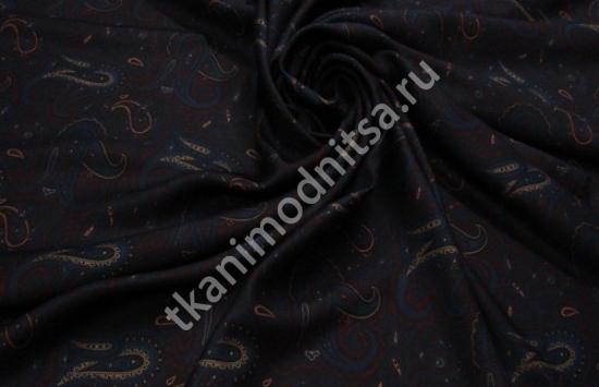 шелк твил арт.94-721 пр-во Италия,шир.139 см