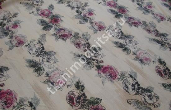 Ткань плательная шерсть  арт.94-810 шир.156 см пр-во Италия