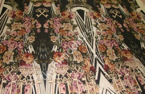 Ткань плательная арт.89-782 шир.150 см пр-во Италия