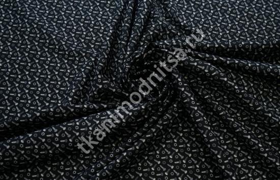 Ткань сорочечная арт.93-590, шир. 150 см пр-во Италия
