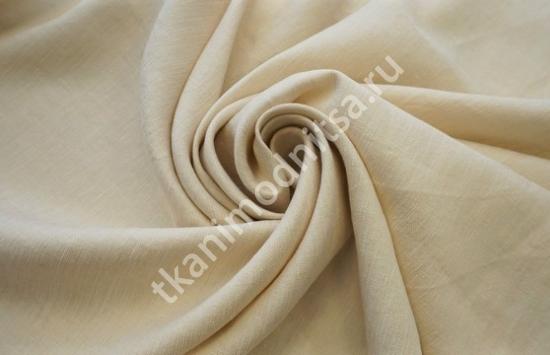 Ткань плательно-костюмная  лен арт.93-258,шир.151 см пр-во Италия