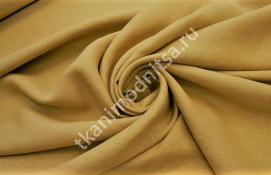 Ткань плательно-костюмная  лен арт.93-263,шир.145 см пр-во Италия