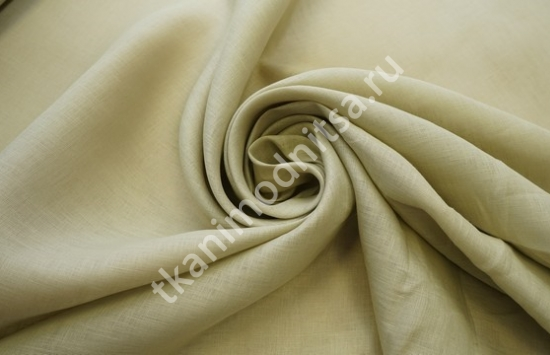 Ткань плательно-костюмная  лен арт.93-264,шир.150 см пр-во Италия
