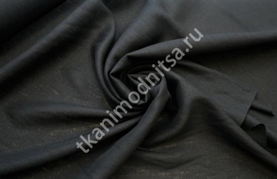Ткань плательно-костюмная  лен арт.93-272,шир.139 см пр-во Италия