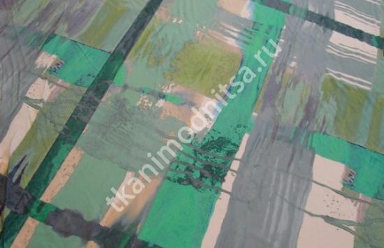 трикотаж инж.печать арт.87-186,шир.140 см пр-во Италия