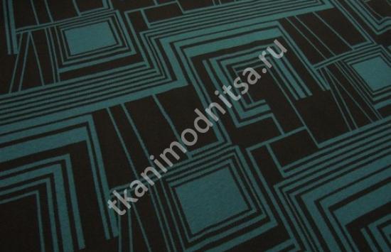 Трикотаж жаккардовый арт.83-513 шир.150 см пр-во Италия